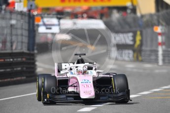 World © Octane Photographic Ltd. FIA Formula 2 (F2) – Monaco GP - Race 1. BWT Arden - Maximilian Gunther. Monte Carlo. Friday 25th May 2018.