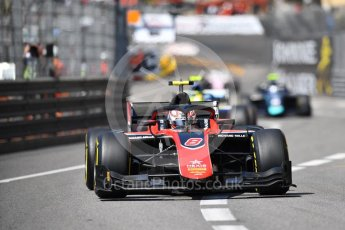 World © Octane Photographic Ltd. FIA Formula 2 (F2) – Monaco GP - Race 1. ART Grand Prix - George Russell. Monte Carlo. Friday 25th May 2018.