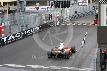 World © Octane Photographic Ltd. FIA Formula 2 (F2) – Monaco GP - Race 2. Carouz - Antonio Fuoco. Monte Carlo. Saturday 26th May 2018.