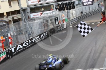 World © Octane Photographic Ltd. FIA Formula 2 (F2) – Monaco GP - Race 2. Carlin - Lando Norris. Monte Carlo. Saturday 26th May 2018.
