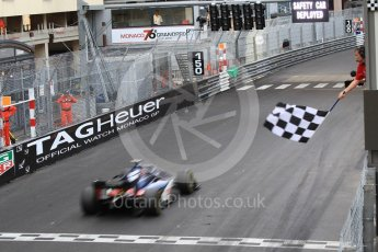 World © Octane Photographic Ltd. FIA Formula 2 (F2) – Monaco GP - Race 2 Podium. Russian Time - Artem Markelov. Monte Carlo. Saturday 26th May 2018
