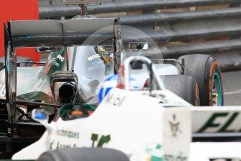 World © Octane Photographic Ltd. Formula 1 – Monaco GP - Rosberg Father and Son World Championship cars demonstration. Mercedes W08 - Nico Rosberg and Williams FW08 - Keke Rosberg. Monte-Carlo. Thursday 24th May 2018.