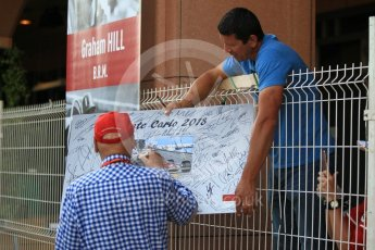 World © Octane Photographic Ltd. Formula 1 - Monaco GP - Paddock. Niki Lauda - Non-Executive Chairman of Mercedes-Benz Motorsport. Monte-Carlo. Saturday 26th May 2018.