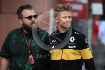 World © Octane Photographic Ltd. Formula 1 – Monaco GP - Paddock. Renault Sport F1 Team RS18 – Nico Hulkenberg. Monte-Carlo. Saturday 26th May 2018.