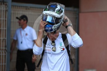 World © Octane Photographic Ltd. Formula 1 – Monaco GP - Paddock. Mercedes AMG Petronas Motorsport AMG F1 W09 EQ Power+ - Valtteri Bottas. Monte-Carlo. Saturday 26th May 2018.