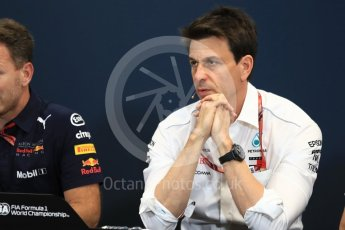 World © Octane Photographic Ltd. Formula 1 – Monaco GP – Team Personnel Press Conference. Toto Wolff - Executive Director & Head of Mercedes-Benz Motorsport. Monte-Carlo. Thursday 24th May 2018.