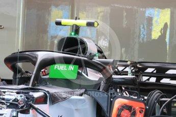 World © Octane Photographic Ltd. Formula 1 – Singapore GP - Thursday Pit Lane. McLaren MCL33. Marina Bay Street Circuit, Singapore. Thursday 13th September 2018.