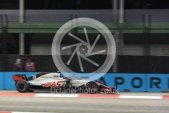 World © Octane Photographic Ltd. Formula 1 – Singapore GP - Practice 2. Haas F1 Team VF-18 – Kevin Magnussen. Marina Bay Street Circuit, Singapore. Friday 14th September 2018.