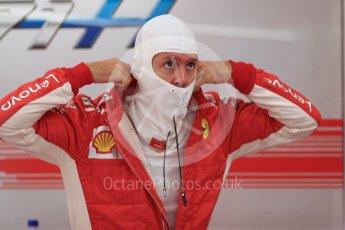 World © Octane Photographic Ltd. Formula 1 – Singapore GP - Practice 3. Scuderia Ferrari SF71-H – Sebastian Vettel. Marina Bay Street Circuit, Singapore. Saturday 15th September 2018.