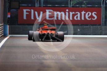 World © Octane Photographic Ltd. Formula 1 – Singapore GP - Qualifying. Scuderia Ferrari SF71-H – Kimi Raikkonen. Marina Bay Street Circuit, Singapore. Saturday 15th September 2018.