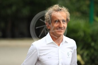 World © Octane Photographic Ltd. Formula 1 - Singapore GP - Paddock. Alain Prost – Special Advisor to Renault Sport Formula 1 Team. Marina Bay Street Circuit, Singapore. Saturday 15th September 2018.