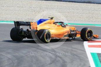 World © Octane Photographic Ltd. Formula 1 – Spanish GP - Practice 1. McLaren MCL33 – Stoffel Vandoorne. Circuit de Barcelona-Catalunya, Spain. Friday 11th May 2018.
