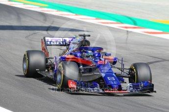 World © Octane Photographic Ltd. Formula 1 – Spanish GP - Practice 1. Scuderia Toro Rosso STR13 – Brendon Hartley. Circuit de Barcelona-Catalunya, Spain. Friday 11th May 2018.