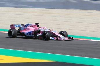 World © Octane Photographic Ltd. Formula 1 – Spanish GP - Practice 1. Sahara Force India VJM11 - Sergio Perez. Circuit de Barcelona-Catalunya, Spain. Friday 11th May 2018.