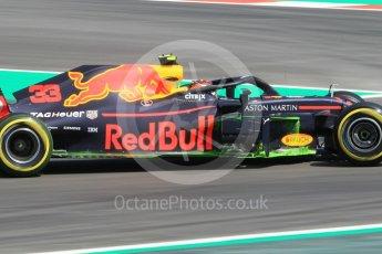 World © Octane Photographic Ltd. Formula 1 – Spanish GP - Practice 1. Aston Martin Red Bull Racing TAG Heuer RB14 – Max Verstappen. Circuit de Barcelona-Catalunya, Spain. Friday 11th May 2018.