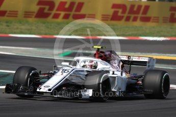 World © Octane Photographic Ltd. Formula 1 – Spanish GP - Practice 1. Alfa Romeo Sauber F1 Team C37 – Charles Leclerc. Circuit de Barcelona-Catalunya, Spain. Friday 11th May 2018.