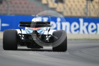World © Octane Photographic Ltd. Formula 1 – Spanish GP - Saturday Practice 3. Williams Martini Racing FW41 – Lance Stroll. Circuit de Barcelona-Catalunya, Spain. Saturday 12th May 2018.