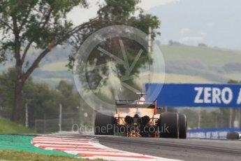 World © Octane Photographic Ltd. Formula 1 – Spanish GP - Saturday Practice 3. McLaren MCL33 – Fernando Alonso. Circuit de Barcelona-Catalunya, Spain. Saturday 12th May 2018.