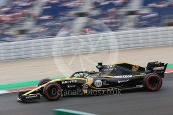World © Octane Photographic Ltd. Formula 1 – Spanish GP - Saturday Practice 3. Renault Sport F1 Team RS18 – Nico Hulkenberg. Circuit de Barcelona-Catalunya, Spain. Saturday 12th May 2018.