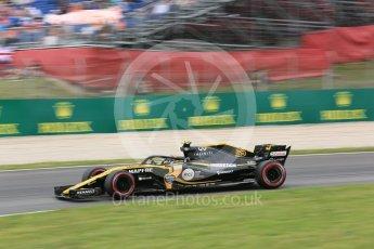 World © Octane Photographic Ltd. Formula 1 – Spanish GP - Saturday Practice 3. Renault Sport F1 Team RS18 – Carlos Sainz. Circuit de Barcelona-Catalunya, Spain. Saturday 12th May 2018.