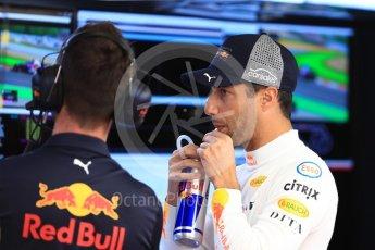 World © Octane Photographic Ltd. Formula 1 – Spanish GP - Saturday - Practice 3. Aston Martin Red Bull Racing TAG Heuer RB14 – Daniel Ricciardo. Circuit de Barcelona-Catalunya, Spain. Saturday 12th May 2018.