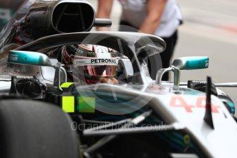 World © Octane Photographic Ltd. Formula 1 – Spanish GP - Saturday - Practice 3. Mercedes AMG Petronas Motorsport AMG F1 W09 EQ Power+ - Lewis Hamilton. Circuit de Barcelona-Catalunya, Spain. Saturday 12th May 2018.