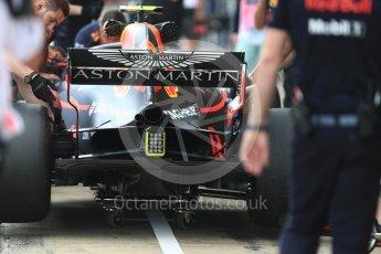 World © Octane Photographic Ltd. Formula 1 – Spanish GP - Saturday - Practice 3. Aston Martin Red Bull Racing TAG Heuer RB14 – Max Verstappen. Circuit de Barcelona-Catalunya, Spain. Saturday 12th May 2018.