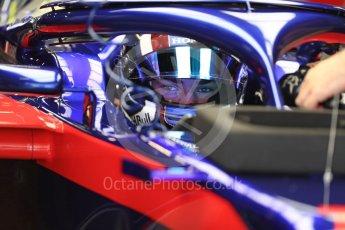 World © Octane Photographic Ltd. Formula 1 – Spanish GP - Saturday Practice 3. Scuderia Toro Rosso STR13 – Pierre Gasly. Circuit de Barcelona-Catalunya, Spain. Saturday 12th May 2018.