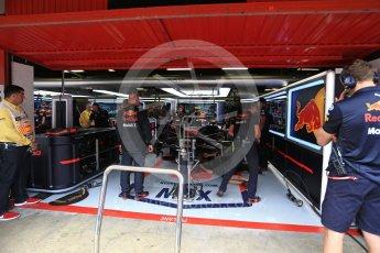 World © Octane Photographic Ltd. Formula 1 – Spanish GP - Saturday Practice 3. Aston Martin Red Bull Racing TAG Heuer RB14 – Max Verstappen. Circuit de Barcelona-Catalunya, Spain. Saturday 12th May 2018.