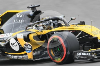 World © Octane Photographic Ltd. Formula 1 – Spanish GP - Saturday Qualifying. Renault Sport F1 Team RS18 – Carlos Sainz. Circuit de Barcelona-Catalunya, Spain. Saturday 12th May 2018.