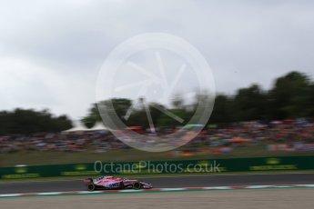 World © Octane Photographic Ltd. Formula 1 – Spanish GP - Saturday Qualifying. Sahara Force India VJM11 - Esteban Ocon. Circuit de Barcelona-Catalunya, Spain. Saturday 12th May 2018.