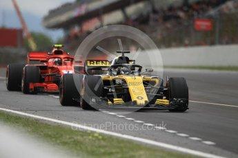 World © Octane Photographic Ltd. Formula 1 – Spanish GP - Race. Renault Sport F1 Team RS18 – Nico Hulkenberg. Circuit de Barcelona-Catalunya, Spain. Sunday 13th May 2018.