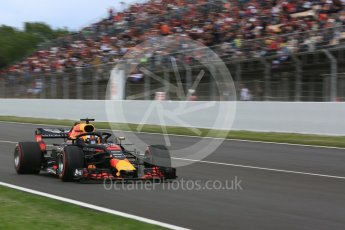 World © Octane Photographic Ltd. Formula 1 – Spanish GP - Race. Aston Martin Red Bull Racing TAG Heuer RB14 – Daniel Ricciardo. Circuit de Barcelona-Catalunya, Spain. Sunday 13th May 2018.