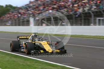 World © Octane Photographic Ltd. Formula 1 – Spanish GP - Race. Renault Sport F1 Team RS18 – Nico Hulkenberg. Circuit de Barcelona-Catalunya, Spain. Sunday 13th May 2018.