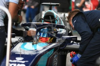 World © Octane Photographic Ltd. FIA Formula 2 (F2) – Spanish GP - Race1. DAMS - Nicholas Latifi. Circuit de Barcelona-Catalunya, Spain. Saturday 12th May 2018.