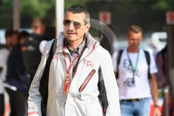 World © Octane Photographic Ltd. Formula 1 - Spanish GP - Friday Paddock. Guenther Steiner - Team Principal of Haas F1 Team. Circuit de Barcelona-Catalunya, Spain. Friday 11th May 2018.