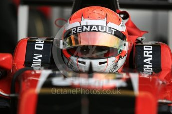 World © Octane Photographic Ltd. GP3 – Spanish GP –   Race 1. ART Grand Prix - Anthoine Hubert. Circuit de Barcelona-Catalunya, Spain. Fri day 11th May 2018.