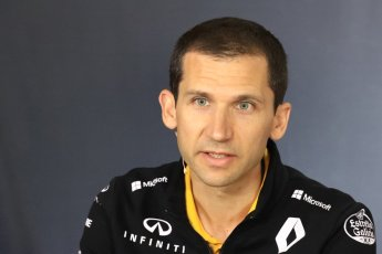 World © Octane Photographic Ltd. Formula 1 - Spanish GP - Friday Team Press Conference. Remi Taffin– Engine Technical Director at Renault Sport Formula 1 Team. Circuit de Barcelona-Catalunya, Spain. Friday 11th May 2018.