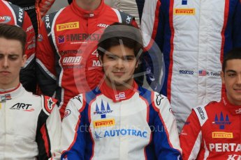 World © Octane Photographic Ltd. GP3 – Spanish GP – Class of 2018. Trident - Pedro Piquet. Circuit de Barcelona-Catalunya, Spain. Thursday 10th May 2018.