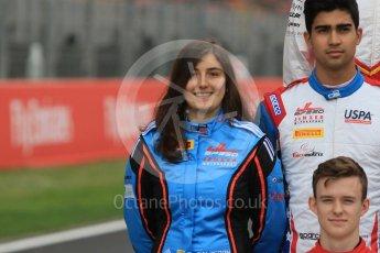 World © Octane Photographic Ltd. GP3 – Spanish GP – Class of 2018. Jaenzer Motorsport - Tatiana Calderon. Circuit de Barcelona-Catalunya, Spain. Thursday 10th May 2018.