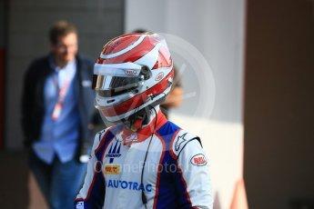 World © Octane Photographic Ltd. GP3 – Spanish GP – Practice. Trident - Pedro Piquet. Circuit de Barcelona-Catalunya, Spain. Friday 11th May 2018.