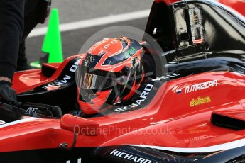 World © Octane Photographic Ltd. GP3 – Spanish GP – Practice. ART Grand Prix - Nikita Mazepin. Circuit de Barcelona-Catalunya, Spain. Friday 11th May 2018.