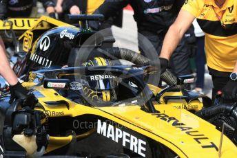 World © Octane Photographic Ltd. Formula 1 – United States GP - Grid. Renault Sport F1 Team RS18 – Nico Hulkenberg. Circuit of the Americas (COTA), USA. Sunday 21st October 2018.
