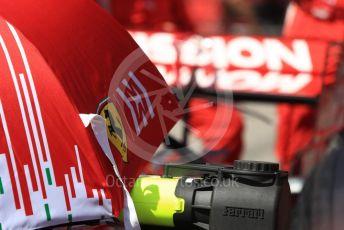 World © Octane Photographic Ltd. Formula 1 – United States GP - Grid. Scuderia Ferrari SF71-H. Circuit of the Americas (COTA), USA. Sunday 21st October 2018.