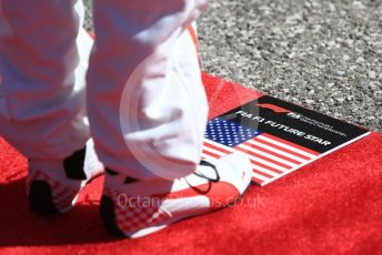 World © Octane Photographic Ltd. Formula 1 – United States GP - Grid. Grid kids. Circuit of the Americas (COTA), USA. Sunday 21st October 2018.