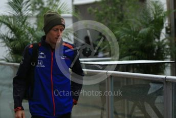World © Octane Photographic Ltd. Formula 1 – United States GP - Paddock. Scuderia Toro Rosso STR13 – Brendon Hartley. Circuit of the Americas (COTA), USA. Friday 19th October 2018.