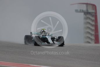 World © Octane Photographic Ltd. Formula 1 – United States GP - Practice 1. Mercedes AMG Petronas Motorsport AMG F1 W09 EQ Power+ - Valtteri Bottas. Circuit of the Americas (COTA), USA. Friday 19th October 2018.