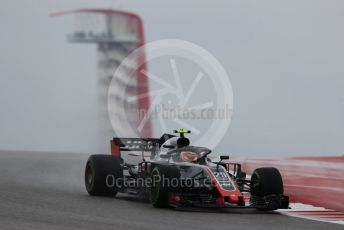 World © Octane Photographic Ltd. Formula 1 – United States GP - Practice 1. Haas F1 Team VF-18 – Kevin Magnussen. Circuit of the Americas (COTA), USA. Friday 19th October 2018.
