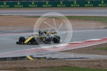 World © Octane Photographic Ltd. Formula 1 – United States GP - Practice 1. Renault Sport F1 Team RS18 – Nico Hulkenberg. Circuit of the Americas (COTA), USA. Friday 19th October 2018.