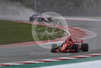 World © Octane Photographic Ltd. Formula 1 – United States GP - Practice 2. Scuderia Ferrari SF71-H – Sebastian Vettel. Circuit of the Americas (COTA), USA. Friday 19th October 2018.